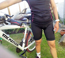 JEANTEX Damen Fahrradhose mit komfortabler Polsterung im Sitzbereich Gr. 38 ,NEU