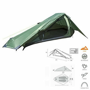 Summit Eiger Trekker Tent 2 Man Person Camping Quick Pitch Festival Backpacking
