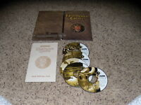 Forgotten Realms Baldur's Gate (PC, 1998) with cardboard holder& reference card