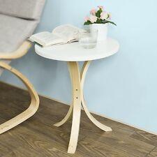 SoBuy® Guéridon Table d'appoint ronde 3 pieds,Bout de canapé FBT29-W FR