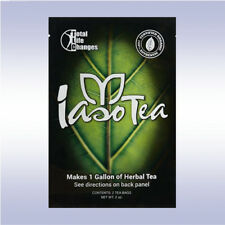 TLC IASO TEA (1 MONTH / 4 POUCHES) instant herbal detox weight loss packs tlc