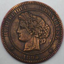Ceres 10 centimes 1894 A bronze #730