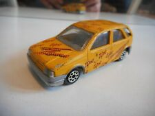 "Majorette Fiat Tipo ""Tipo"" in Yellow"