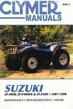 1987-1998 Suzuki King Quad Runner LT4WD LT4WDX LTF250 ATV Repair Manual M4832