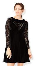 MONSOON Clary Velvet Dress Size UK 14 BNWT