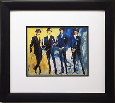 "LeRoy Neiman ""The Beatles London"" Newly FRAMED ART Print McCartney Lennon Ringo"