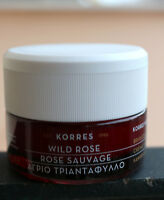 KORRES WILD ROSE normal-combination skin day cream 40 ml1.35 Oz. NEW.Exp 2021