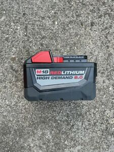 Genuine Milwaukee m18 battery, 9.0ah, used but in good condition