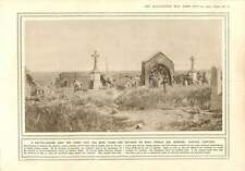 1915 Souchez Cemetary Battle Entrance To Trench
