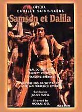 SAMSON ET DALILA rare Opera dvd PLACIDO DOMINGO Shirley Verrett 1981 Mint Ln