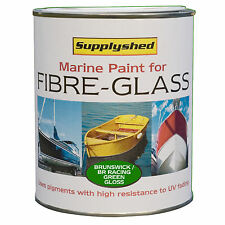 SUPPLYSHED Boat Gloss BRITISH RACING GREEN Paint for Fibreglass & GRP 750ml