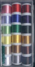 Madeira Rayon Stickbox 18 Spulen A)200m Stickgarn 8040