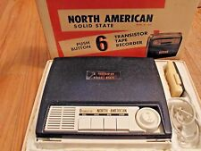 North American Solid State Transistor Tape Recorder