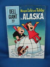 Dell Giant 1 LITTLE LULU AND TUBBY IN ALASKA VG Complete 1959