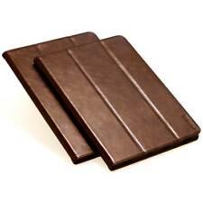 Premium Leder Schutzhülle für Apple iPad 2 Tablet Tasche Hülle Cover Case braun