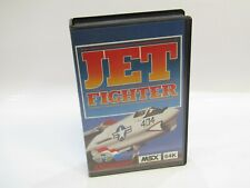JET FIGHTER MSX 64 AACKOSOFT ORIGINAL  LIKE NEW IN BOX ULTRARARE