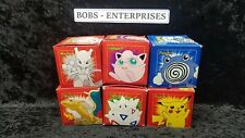 POKEMON Limited Edition Gotta Catch'em All Gold-Plated Trading Card lot of 6 l-6