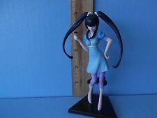 "Gundam 00  Wang Liu Mei Super Sexy 4.5""in PVC Figure in Short Light Blue Skirt"