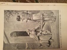 u1-3 ephemera 1890 religious book plate eli receives news of the ark
