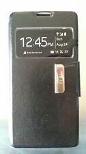Funda modelo libro tapa imán negra para Sony M5 Xperia lote de 5 unidades