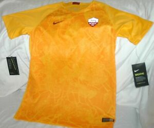 Roma soccer jersey YOUTH large NEW with tags Nike Breathe authentic $75 retail