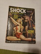 Shock Mystery Tales #1, 1963 Feb, Nazi, torture, GGA, pulp, men's adventure