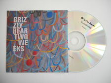 GRIZZLY BEAR : TWO WEEKS ( 4 VERSIONS ) [ CD SINGLE ] ~ PORT GRATUIT