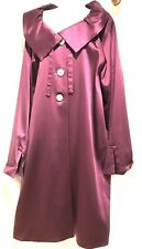 plus sz M / 20 TS TAKING SHAPE Theatre Coat satin Look jacket NWT! rrp$300