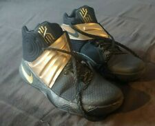 Black/Gold Kyrie 2 Nike Id
