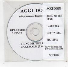 (FV879) Aggi Doom, Bring Me The Head - 2012 DJ CD
