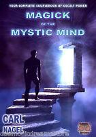 MAGICK OF THE MYSTIC MIND Carl Nagel Finbarr Occult Magic Black Grimoire Magick