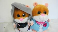GEMMY ANIMATED SINGING HAMSTERS CHIPMUNKS JAGGER  AMAZING JUST THE WAY YOU ARE
