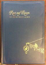 Rast Auf Reisen In Duetschland 1957 Vinyl Cover Hardback Verlag PreownedBook.com
