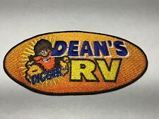Digger Dean's RV Tulsa Oklahoma OK Camping World Dealer Rental Service Patch L