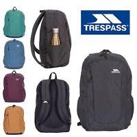Trespass School Bag Mens Womens Backpack Travel Hiking Work Bag Rucksack 25L