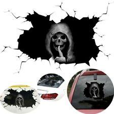Happy Halloween Silent Skull Sticker Window Home Decoration Decal Decoration