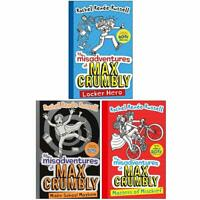 THE MISADVENTURES OF MAX CRUMBLY 3 BOOK SET COLLECTION Rachel Renée Russell NEW