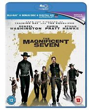 Los 7 Magnificos (The Magnificent Seven) Blu Ray 1 disco (Edición UK)