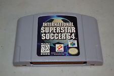 International Superstar Soccer 64 (Nintendo 64, 1997) N64 TESTED FIFA MLS