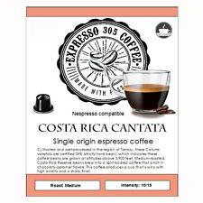 60 Nespresso capsules compatible FRESHLY ROASTED Single Origin Coffee COSTA RICA