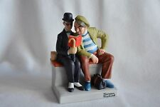 The Interloper - Normal Rockwell Danbury Mint Figurine Porcelain - Hand Crafted
