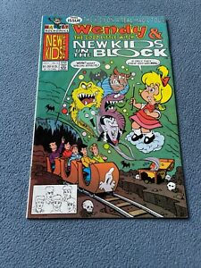 HARVEY Comic WENDY The Good Little Witch & New Kids on the Block #3 July 1991