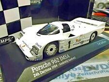 PORSCHE 962 C 24h Daytona 1984 IMSA #1 Andretti Shell Minichamps SP 1:43
