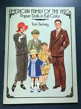 American Family of the 1920s Paper Dolls Tom Tierney
