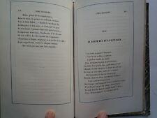 1840 FABLES ET POESIES CHOISIES DE THEOPHILE CONRAD PFEFFEL CHEZ SILBERMANN