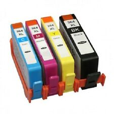 4 BVH 364xl Ink Cartridges for HP Photosmart 5510 5515 5520 5524 6510 C6380