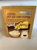 Popcorn Pumper Sears Presto Counter Craft Hot Air Pop Corn Popper- No Top