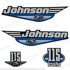 Johnson 1999-2000 oceanpro 115hp fuera de borda calcomanía Kit-Usted Elige Color! calcomanías