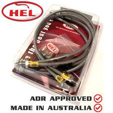 HEL Braided BRAKE Lines fits SUBARU Forester SG Turbo 02-08