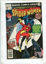 """SPIDER-WOMAN #1 - """"ALL THE WORLD AGAINST HER!"""" - (7.0) 1978"""